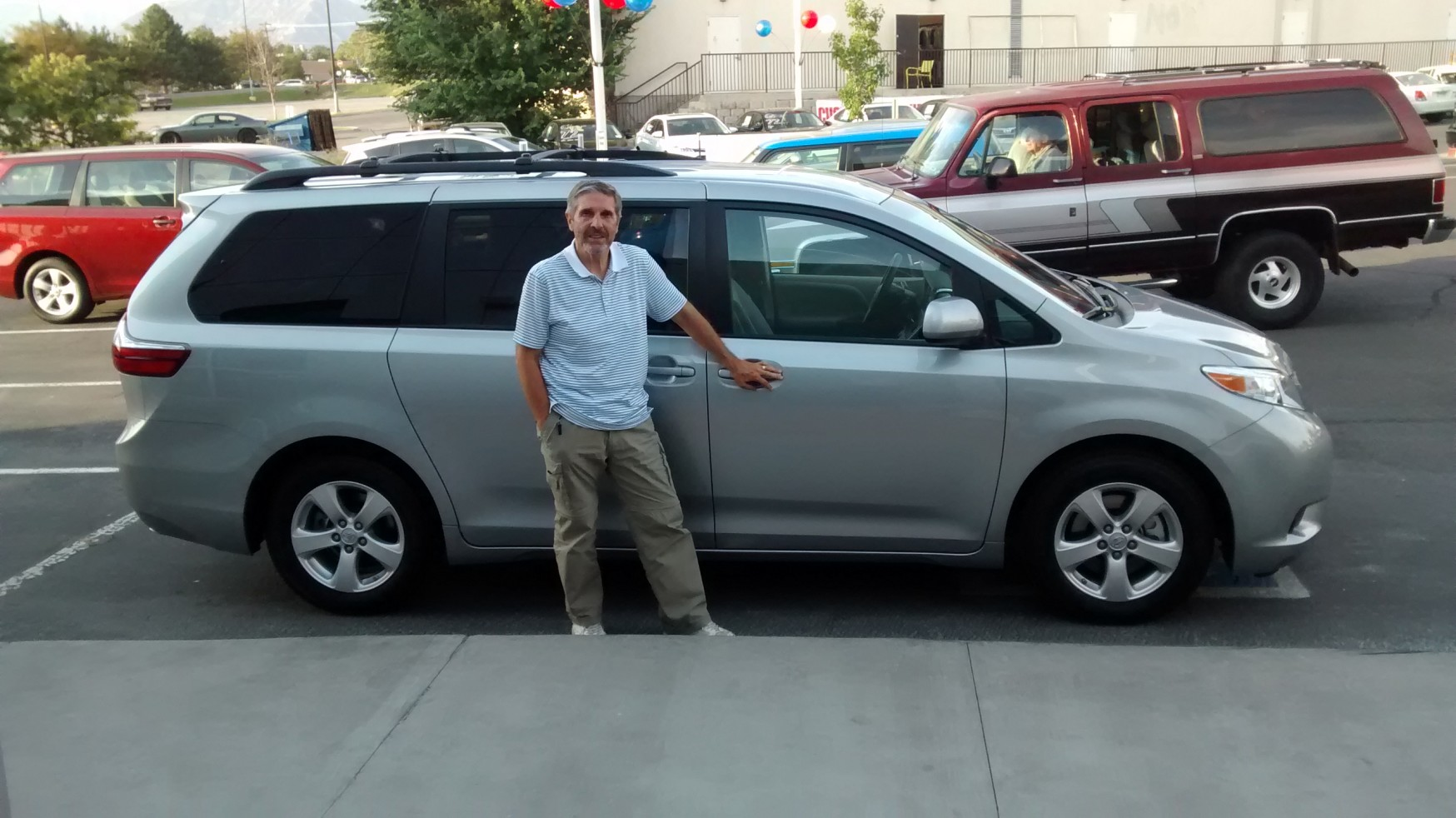 2016 Toyota Le Sienna Purchased From B Brown