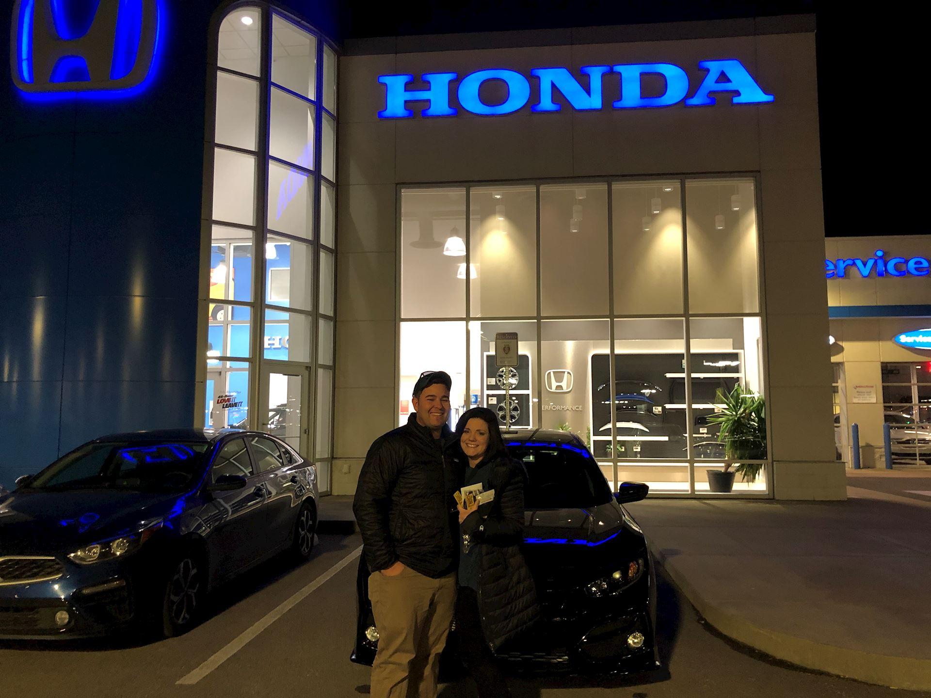 Clarksville TN Jenkins-Wynne-Ford-Honda-Lincoln Honda  Dealer Reviews | 2020 Honda Civic-Hatchback