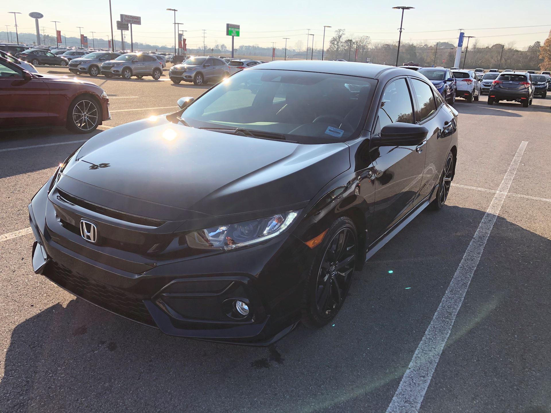 Clarksville TN Jenkins-Wynne-Ford-Honda-Lincoln Honda  Dealer Reviews   2020 Honda Civic-Hatchback
