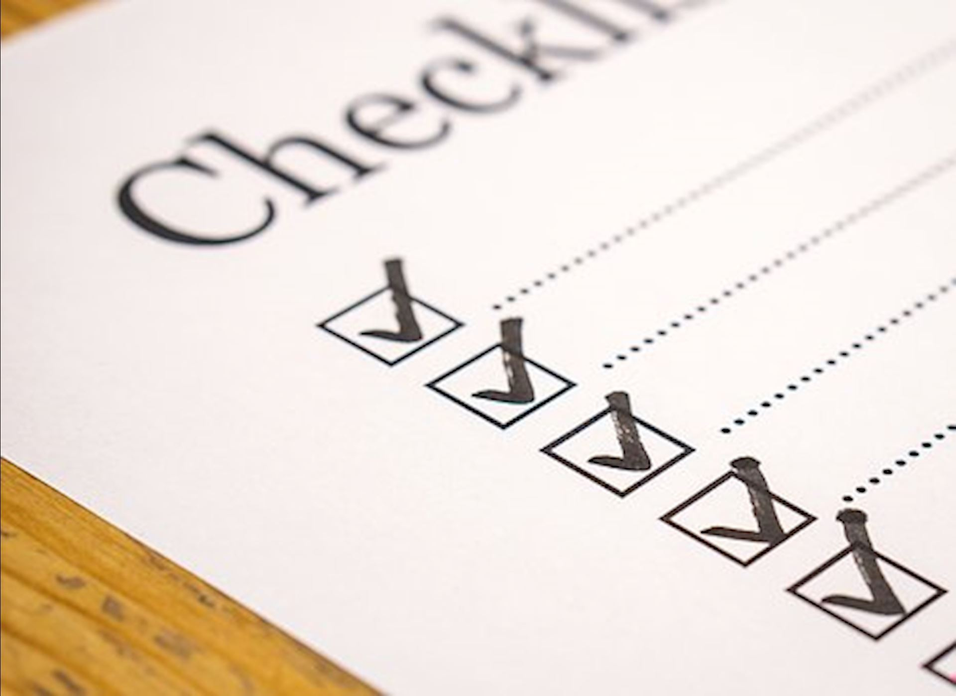 A Checklist to Help You Prepare for Your Next Car or Truck!