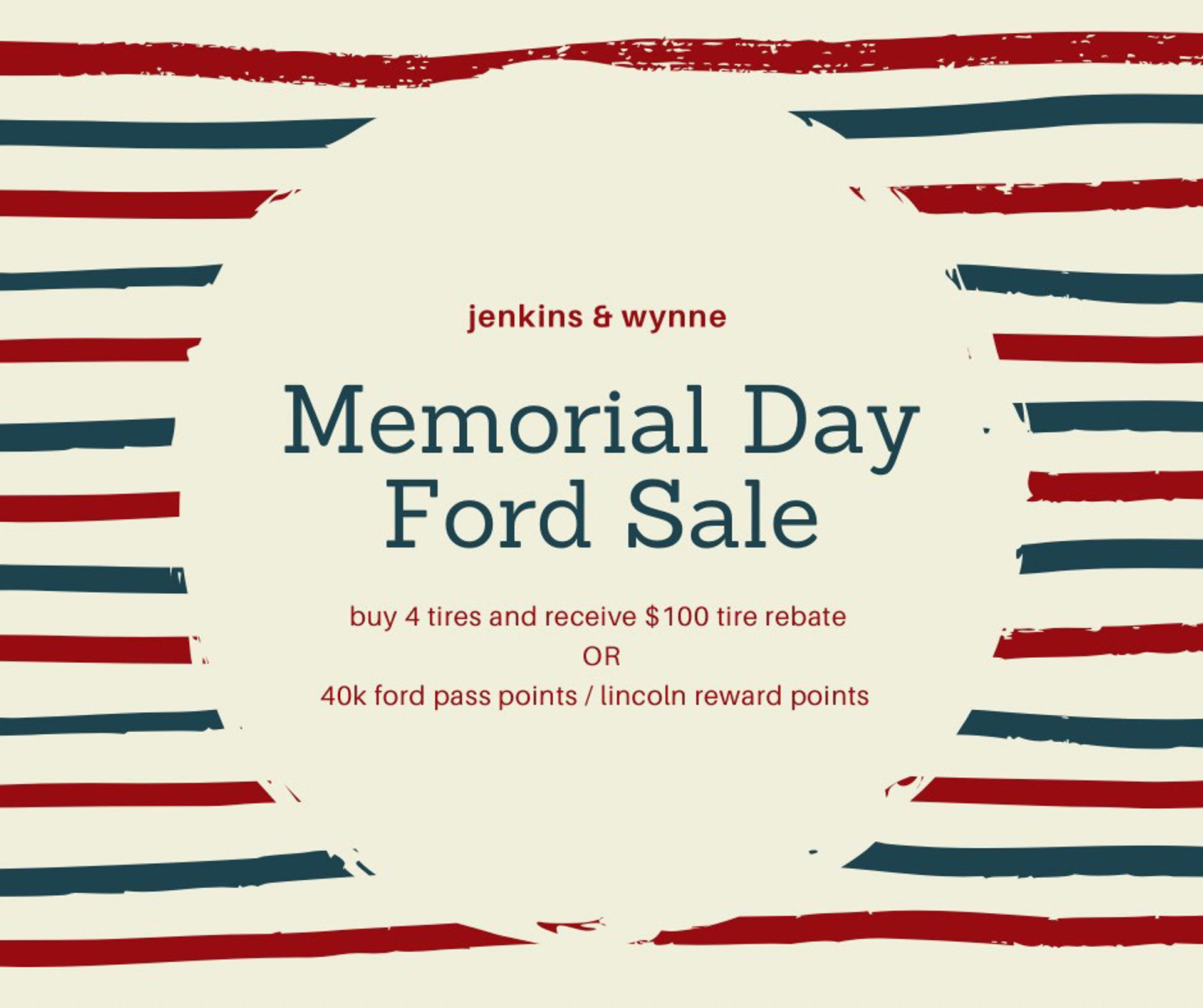 Memorial Day Tire Offer!