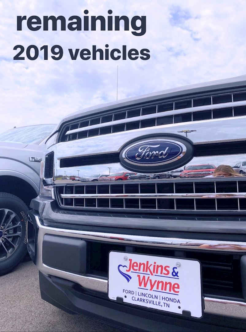 More savings in remaining 2019 vehicles