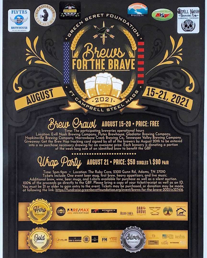 Brews for the Brave!!!