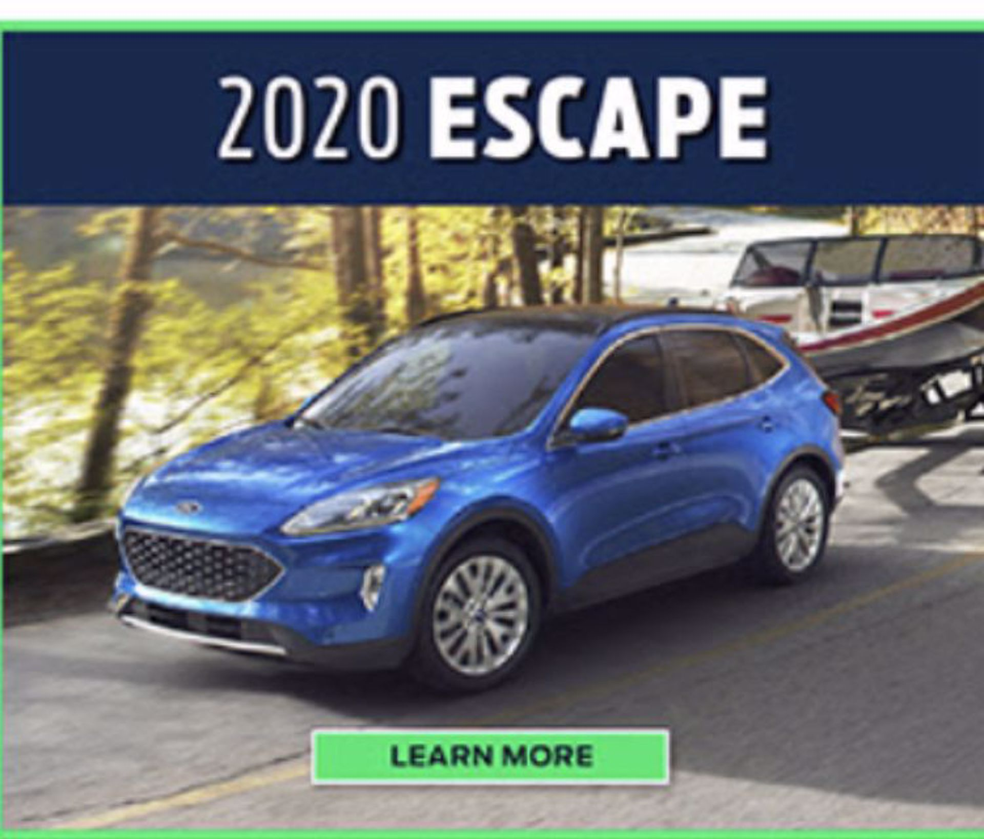 2020 Ford Escape!