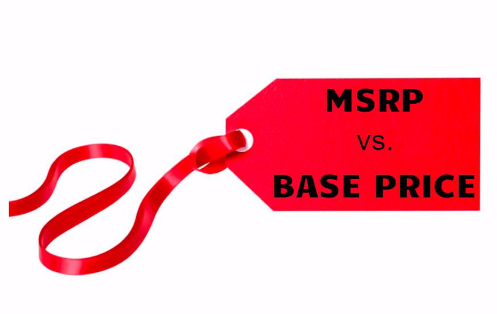 MSRP vs. Base Price - What is the Difference?