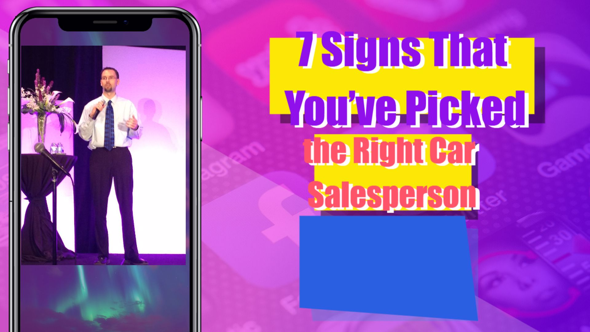 7 Signs That You've Picked the Right Car Salesperson