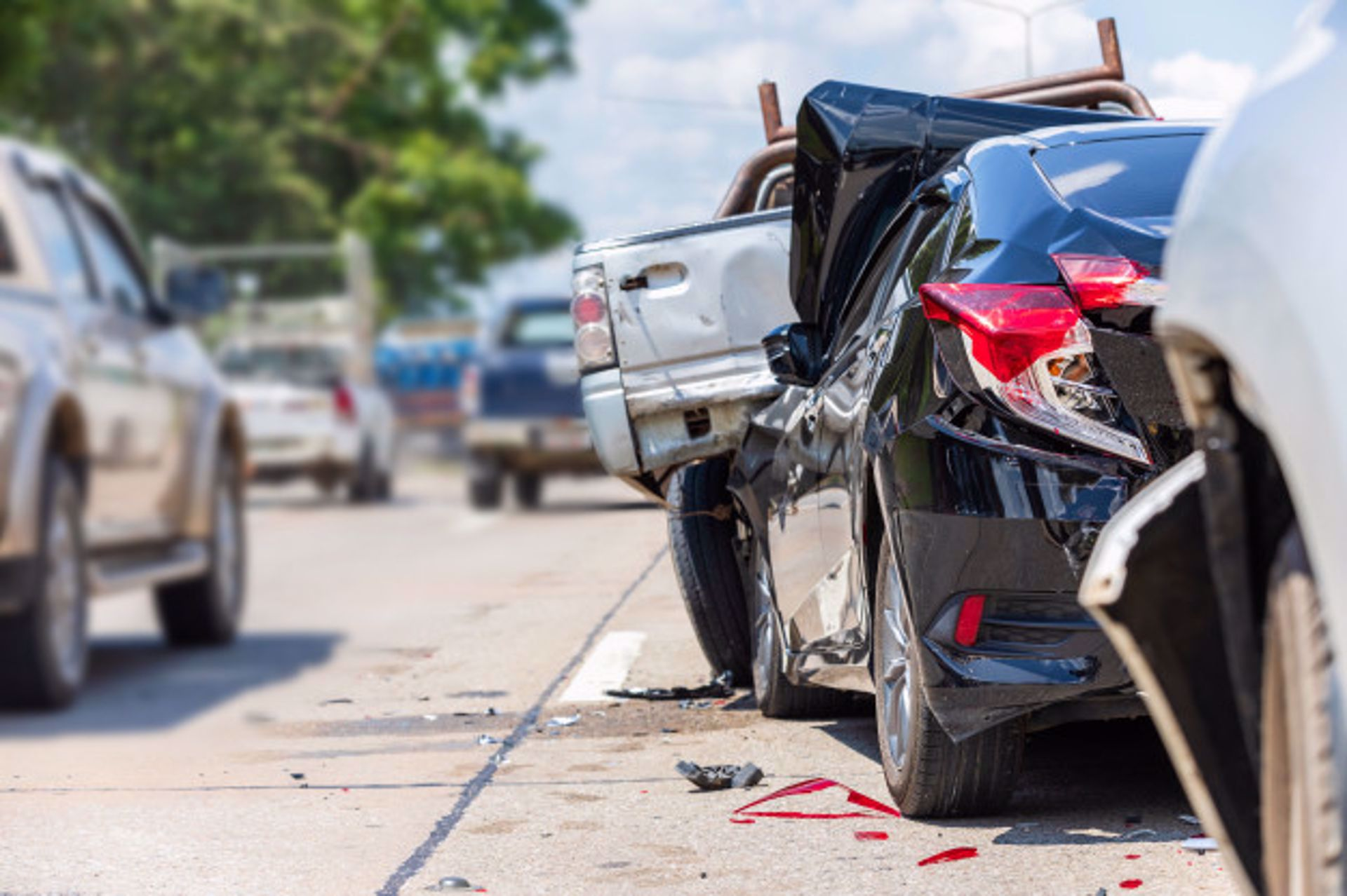5 Most Common Causes of Car Accidents
