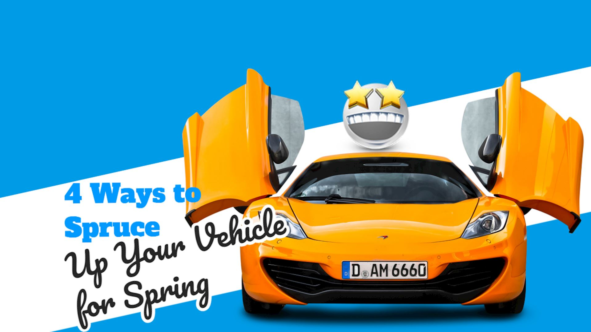 4 Ways to Spruce Up Your Vehicle for Spring