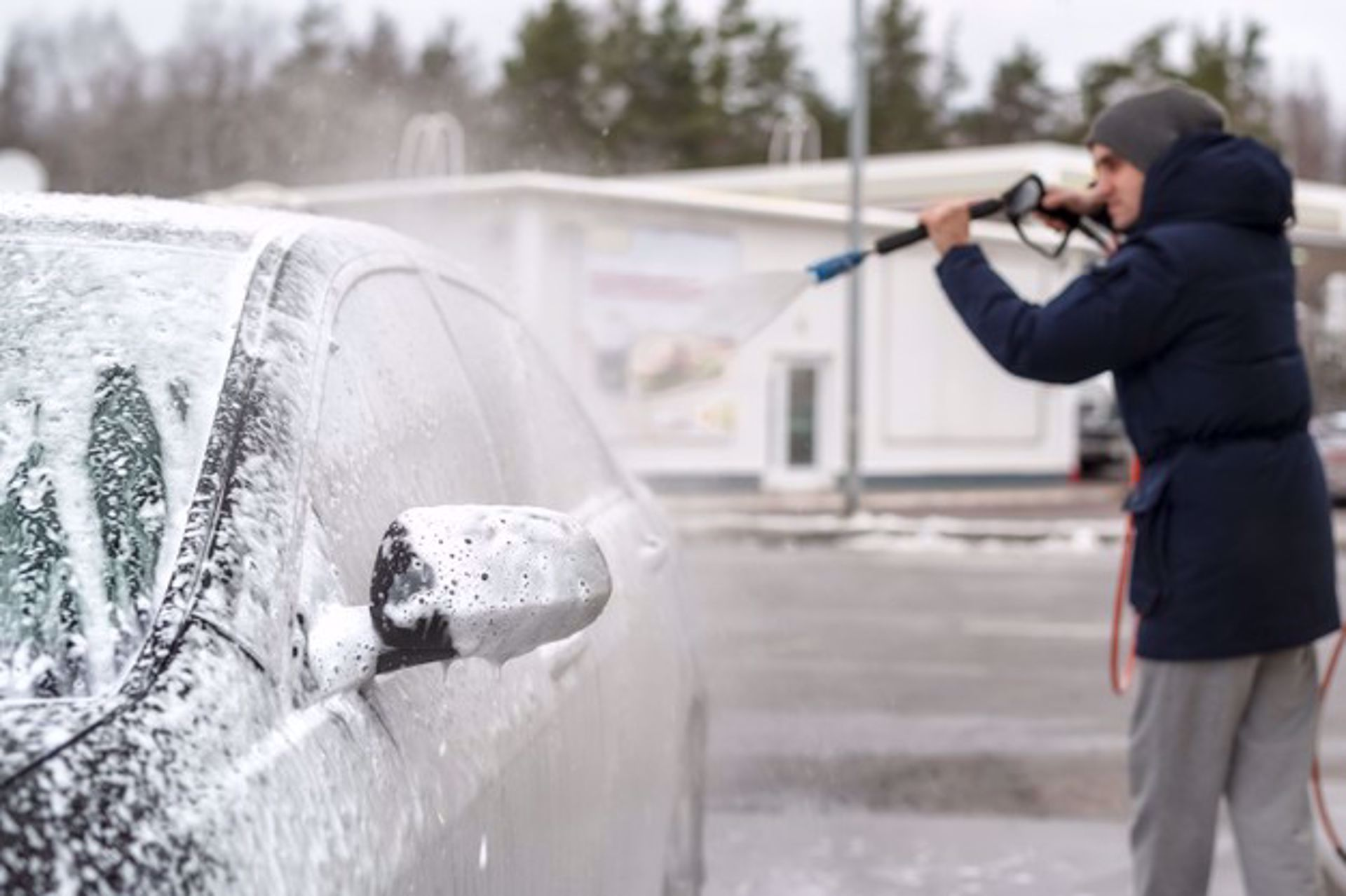 Tips for Washing Your Car During Cold Winter Months