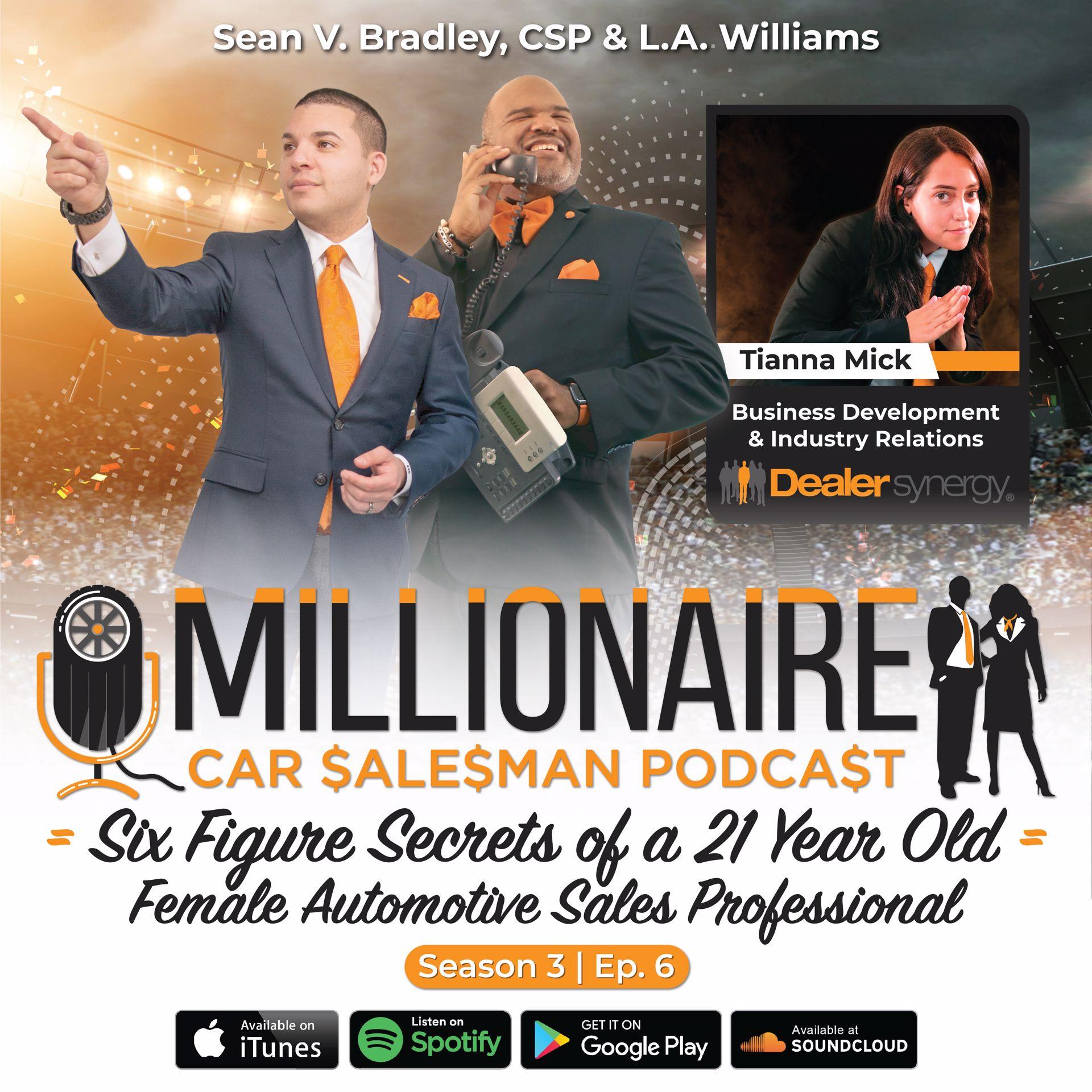 Millionaire Car Salesman S3Ep6 - T Got Your Keys