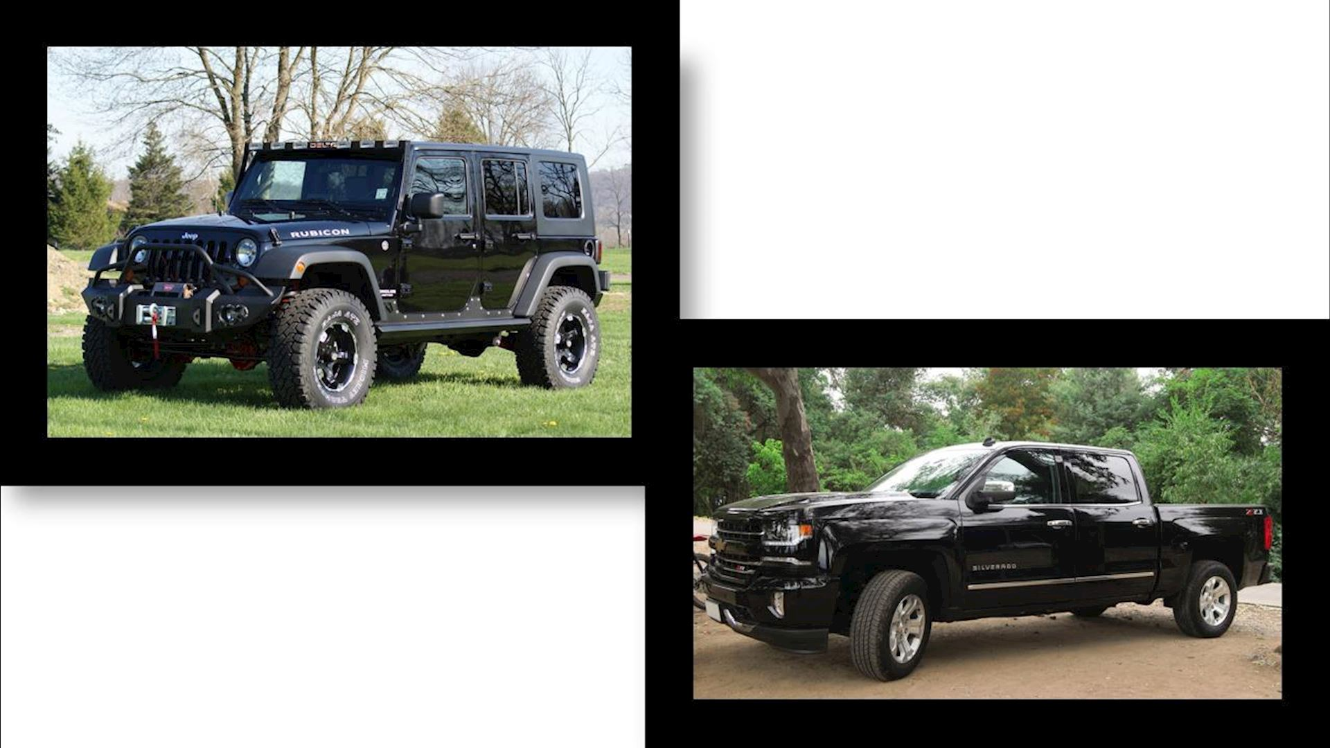 Which is better – A Jeep or a Truck?