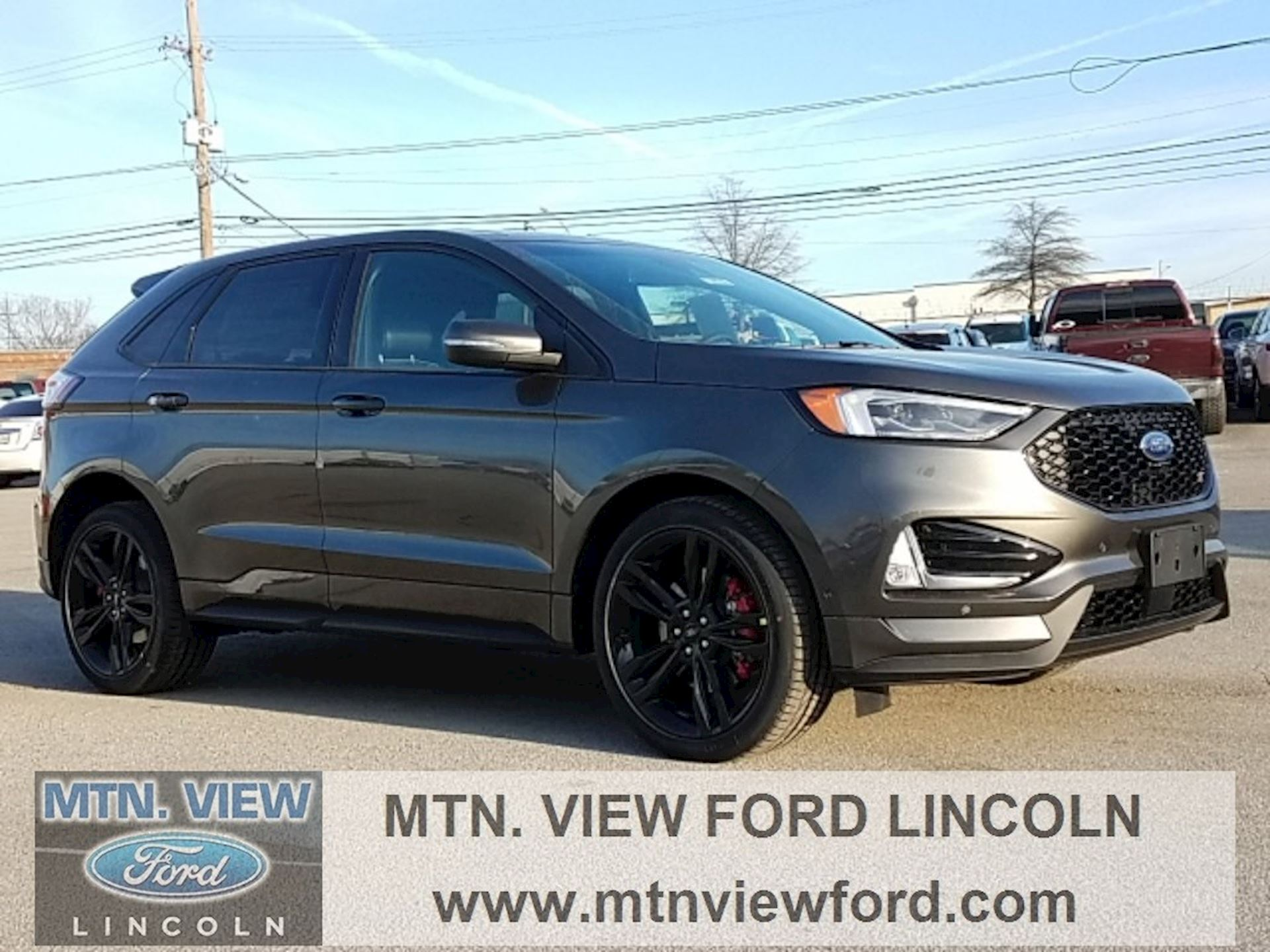 Mtn View Ford >> Vehicle 2019 Ford Edge St Mountain View Ford Lincoln